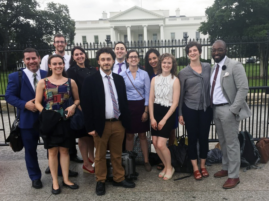 Hunter Urban Planning Students Present at the White House